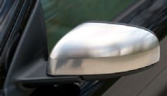 Volvo S60, S80, V70 (04-06) (Matt Chrome) Left Door Mirror Back Cover / Casing